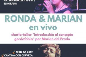 Exposhow en la biblioteca feminista Norita Cortiñas Eldorado