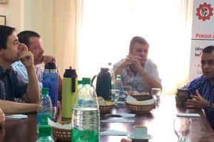 El vicegobernador visitó la Cámara de Comercio de Posadas
