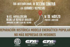 """Represas en Misiones: ATE exige """"reparación histórica"""" y construir «un modelo energético popular"""""""