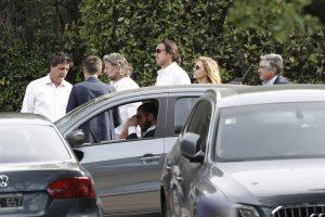 En una ceremonia íntima en Pilar, Macri despidió a su padre