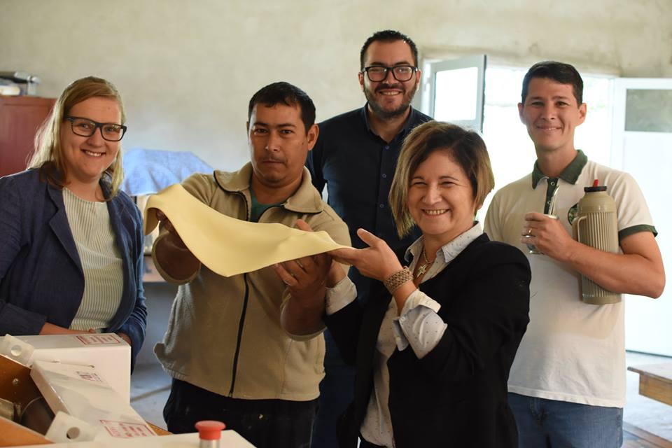 Agricultura Familiar entregó equipamientos productivos a laEscuela de la Familia Agrícola Santos Mártires