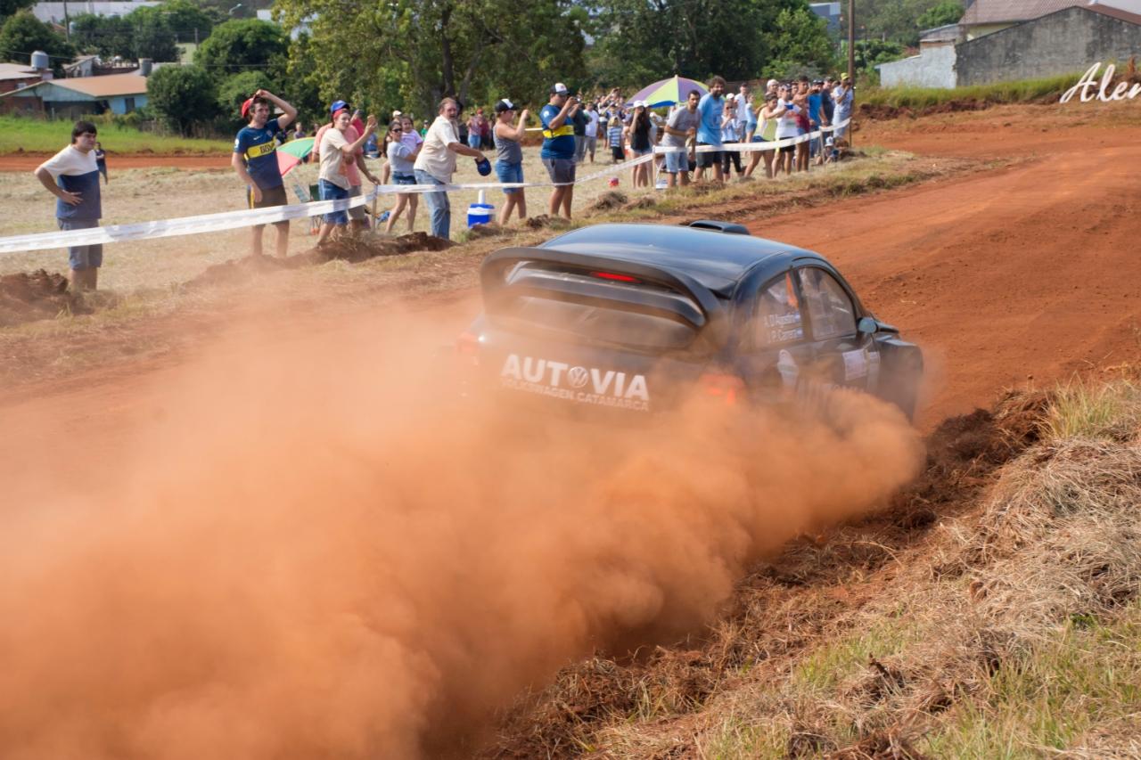 Misiones vivió a pleno la primera jornada del Rally Sudamericano