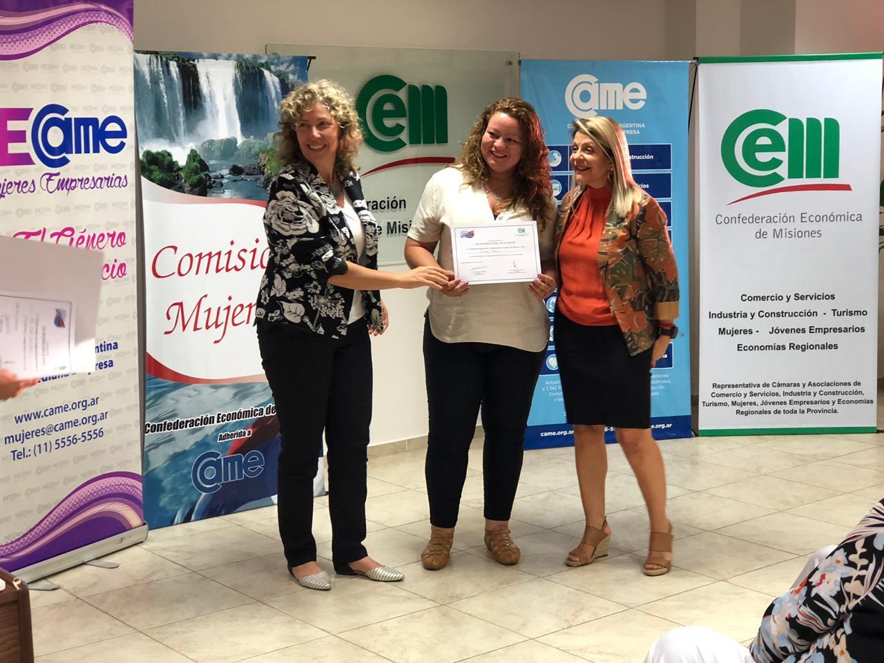 La CEM reconoció a mujeres destacadas por sus tareas cotidianas