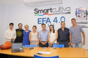 """Con el laboratorio de innovación de """"Smartcultiva"""", la EFA 4.0 inició las actividades en la Escuela de Robótica"""