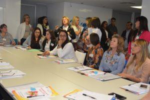 Mujeres parlamentarias analizaron sus proyectos en comisiones