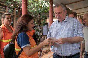 «Debemos estar cerca, atendiendo las necesidades de los más humildes», dijo Passalacqua