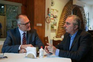 Passalacqua se reunió con el Embajador de Australia antes del partido inaugural del Mundial de Futsal