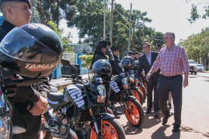 Passalacqua entregó 42 motocicletas a la Policía provincial