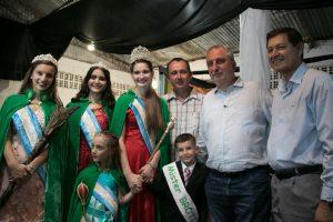 Passalacqua compartió con la familia tealera la edición 2019 de la Fiesta Nacional del Té en Campo Viera