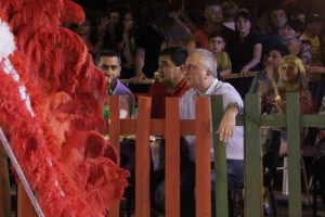 El gobernador estuvo en San Ignacio participando del gran cierre del Carnaval