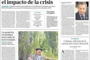 Las tapas del domingo 3 de marzo: La muerte de Franco Macri, padre del Presidente y poderoso empresario en las últimas cuatro décadas