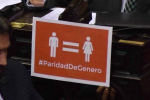 Reglamentan la ley de paridad de género para las próximas elecciones
