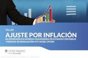 Dictarán un taller sobre «Ajuste por inflación» en la UCP