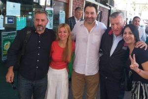 """Cristina Britez: """"El objetivo es avanzar en la unidad de todo el peronismo"""""""