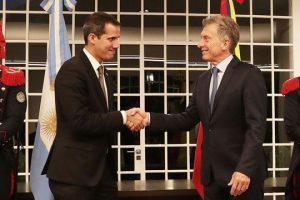 El presidente Macri recibió a Juan Guaidó, quien afirmó: «Vamos a terminar con la usurpación»