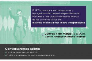 El Instituto del Teatro Independiente convoca a los actores
