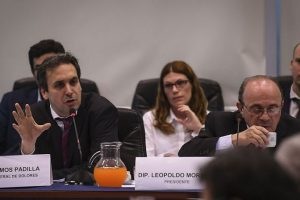 En el Congreso, Ramos Padilla dijo que vínculos con la prensa de D'Alessio permitieron que sus operaciones fueran más efectivas