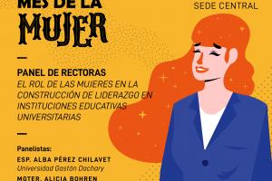 Realizarán un panel de rectoras en la Universidad Gastón Dachary