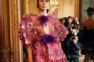 Paraguay lleva el ñandutí a las pasarelas de la moda de París