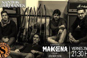 Santos Guardianes presenta nuevas canciones y sonará en un lugar icónico del Rock Nacional