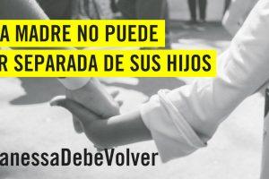Acción urgente internacional: mamá expulsada de Argentina y separada de sus hijos debe volver a estar con ellos