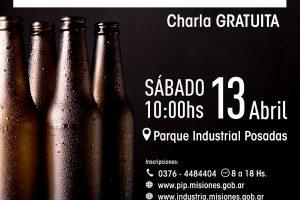 Realizarán una charla sobre packaging de cerveza