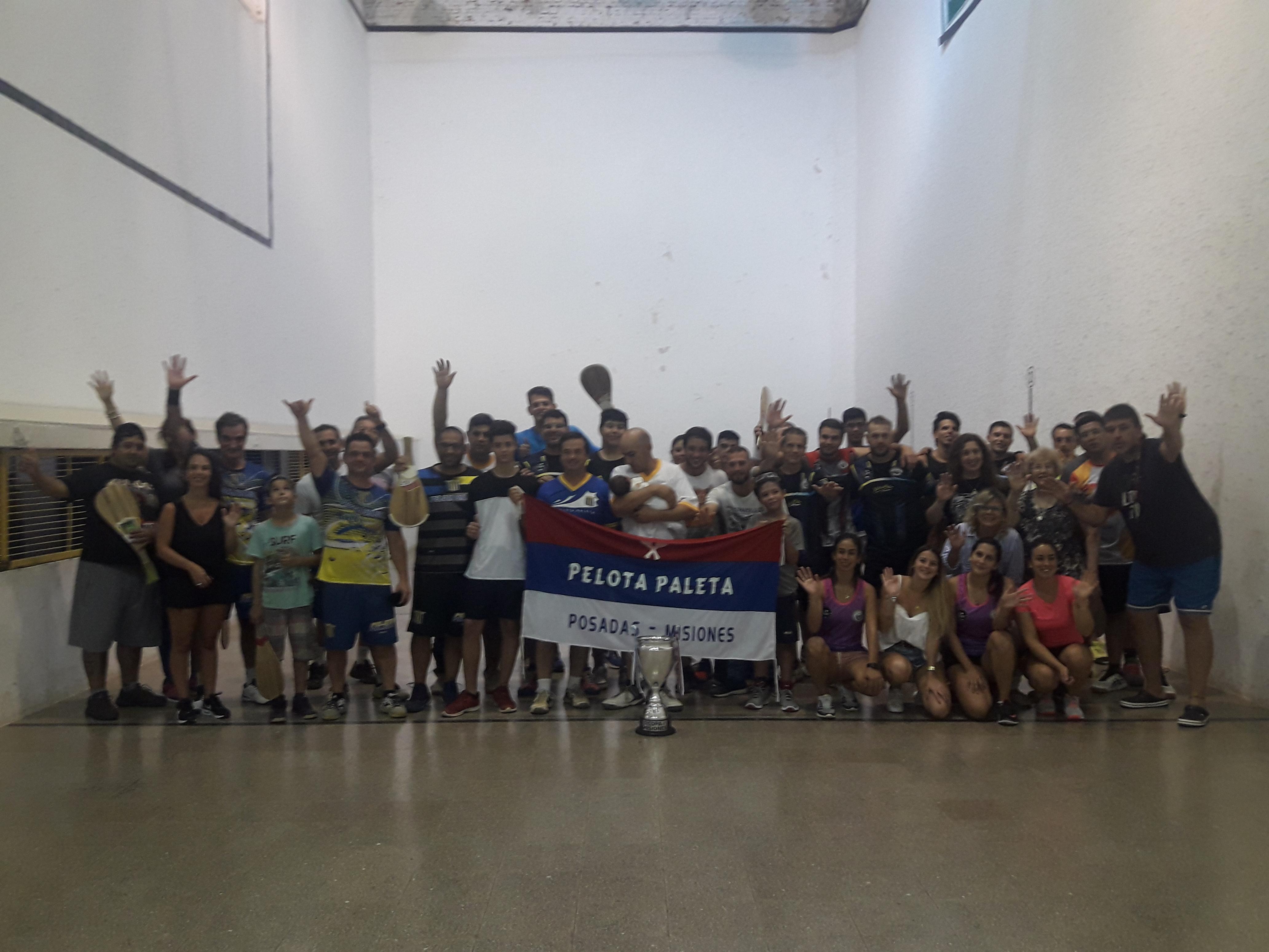 Pelota Paleta: Las Damas y Pre Infantiles fueron la sensación de la Copa Misiones