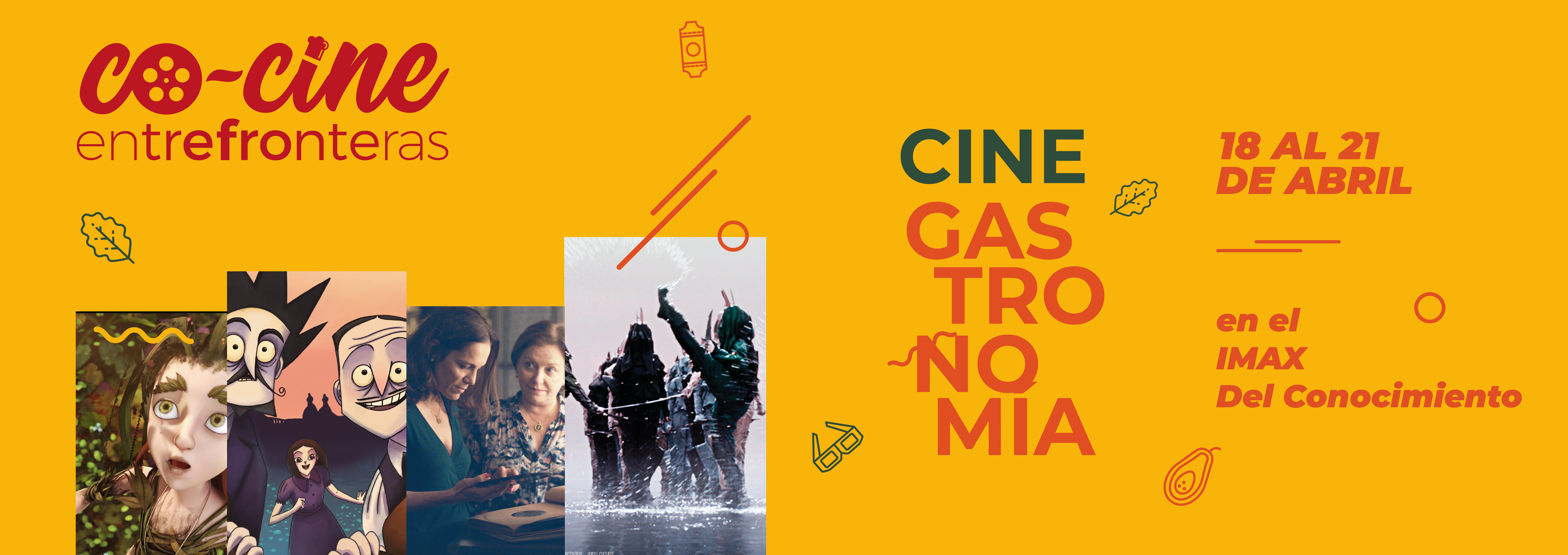 Llega CO-CINE entre fronteras, cine y gastronomía en el IMAX del Conocimiento