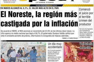 Las tapas de los diarios del miércoles 17: La inflación más alta desde 1991, tema excluyente