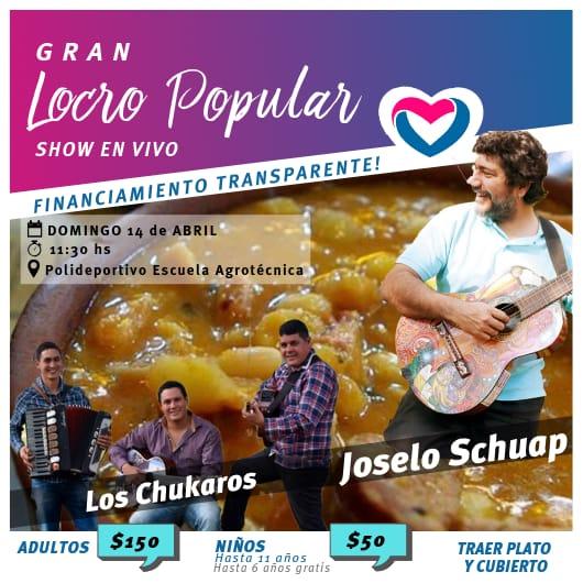 Eldorado: Con un almuerzo y música buscan recaudar fondos para la campaña