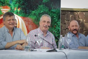 """""""Este es un hecho fundante"""", remarcó Passalacqua al inaugurar la red de fibra óptica que une a Misiones con San Pablo"""