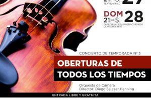 Oberturas de grandes músicos por la orquesta de Cámara del Parque del Conocimiento
