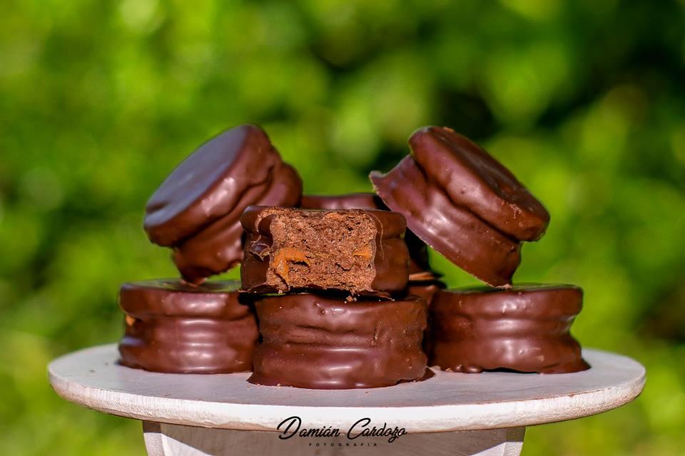 La Oma, alfajores artesanales de chocolate de Andresito al mundo