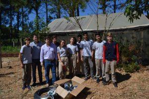 Capacitación técnica para estudiantes y productores de Puerto Esperanza