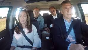 """Macri hizo """"Carpool"""" y habló de un programa de recambio de luminarias que debería favorecer a Misiones: """"Bajaste la factura de luz"""""""