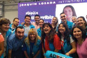 Adomis acompañará a Losada, a través de su candidata a concejal Mónica Estigarribia