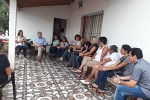 Schiavoni promete un proyecto integral para mejorar los centrosde salud de Misiones