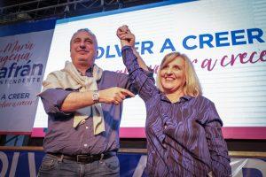 Passalacqua acompaño a María Eugenia Safrán en el lanzamiento de su candidatura a intendente de Apóstoles