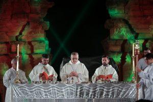 Passalacqua participó de la misa popular de las Misiones en San Ignacio
