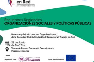 Se realizará en Posadas un encuentro regional de organizaciones sociales