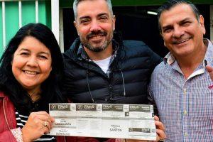 """Mónica Santos: """"Los vecinos de Posadas ven en el FPAyS una opción de buenas personas"""""""