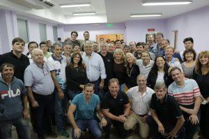 """""""El deporte conduce a construir sociedad"""", subrayó Passalacqua en reunión con federaciones deportivas"""