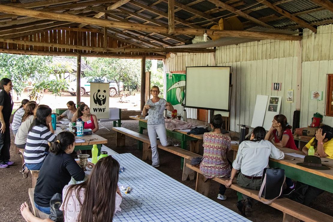 Segundo encuentro de mujeres por la conservación del monte misionero en Andresito