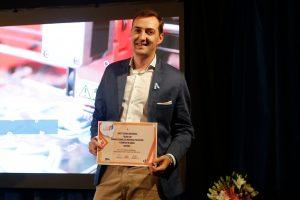 El misionero Facundo Argañaras fue distinguido en la premiación del Joven Empresario Argentino