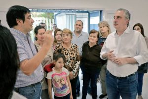 Presupuesto Participativo: Losada y Passalacqua recorrieron el SUM de Campo Bauer