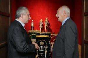 Passalacqua participó de la cena en conmemoración por el 71 aniversario del estado de Israel