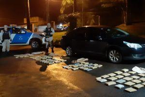 Prefectura detuvo a dos narcos y secuestró más de 74 kilos de marihuana