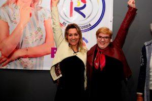 Se presentó oficialmente el sublema #ResolveryMejorar que lleva como candidata a Benilda Dammer