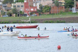 Club Río Paraná organiza la primera fecha del Campeonato Regional de canotaje