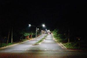 Vialidad sigue instalando luminarias Leds en diversos puntos de la Provincia